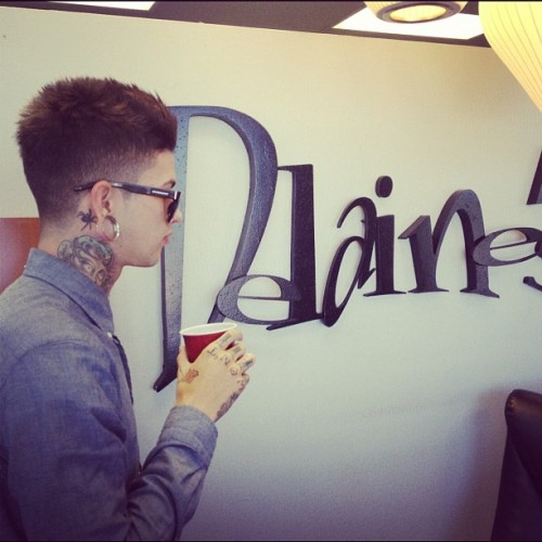 ilovetmills:  Thank you @andrewdoeshair for a quality cut everytime (Taken with instagram)