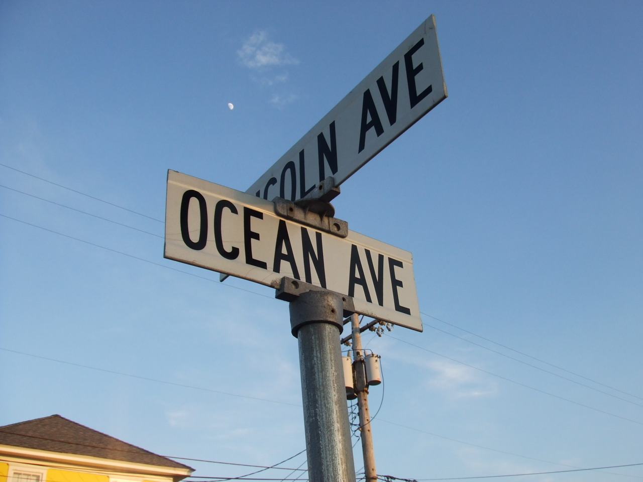 There's a place off Ocean Avenue where I used to sit and talk with you…