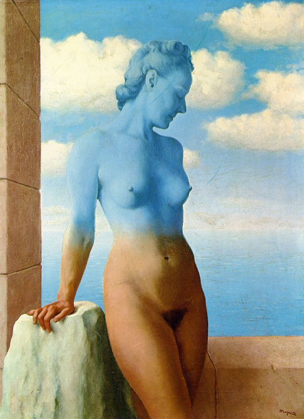 'Black Magic' by Rene Magritte