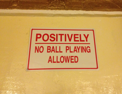 Positively? And, even with this sign up, I'm still gonna play with my balls where ever I damn well choose.