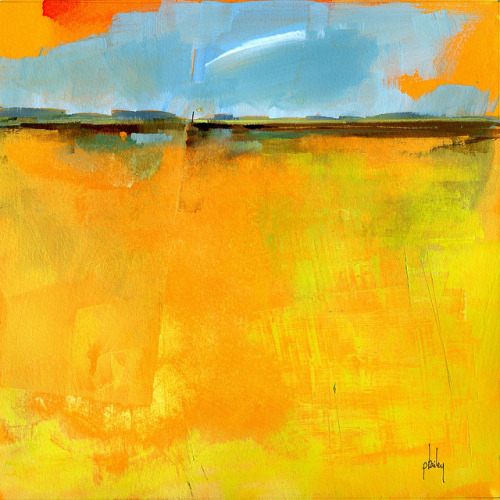Cirrus over lazy fields8 x 8 inches2012