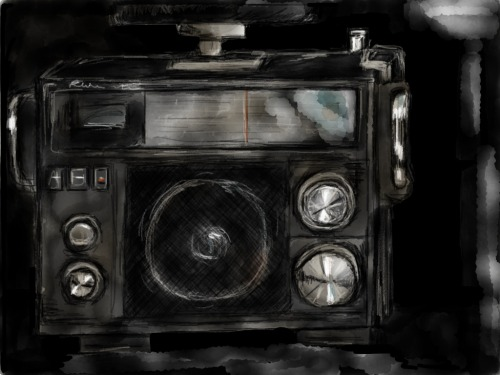 The Radio by Anastasia Made with Paper
