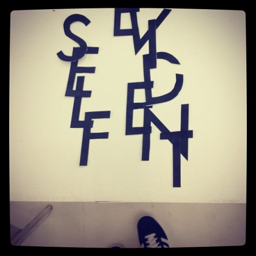 Self Evident X YSL X Adidas Originals #potentialcollabs? #JK (Taken with Instagram at The Hole Gallery)