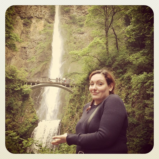 Second tallest (Taken with Instagram at Multnomah Falls)