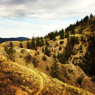 Power-hike #kamloops  (Taken with instagram)