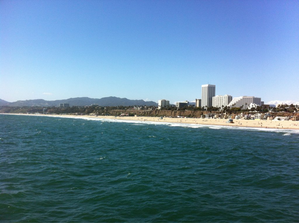 Santa Monica from the Pier