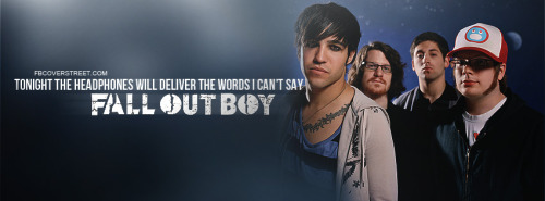 Fall Out Boy Facebook Covers