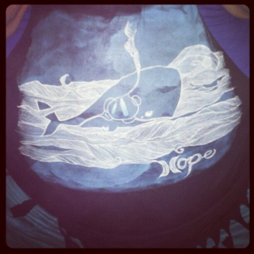H.O.P.E. #brandonboyd #art #environmental (Taken with instagram)