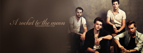 A Rocket To The Moon Facebook Covers