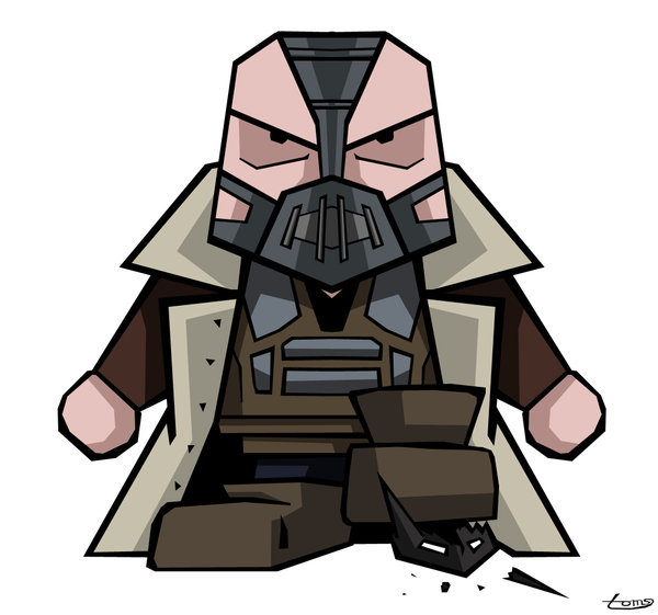 batmansblackrose:  Diddy Dark Knight Rises: Bane by ~evansT