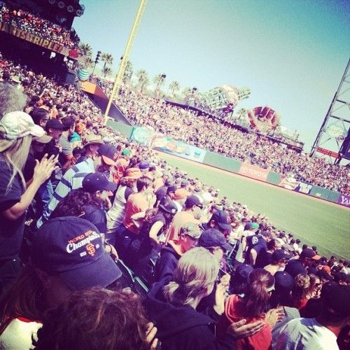 Taken with Instagram at AT&T Park