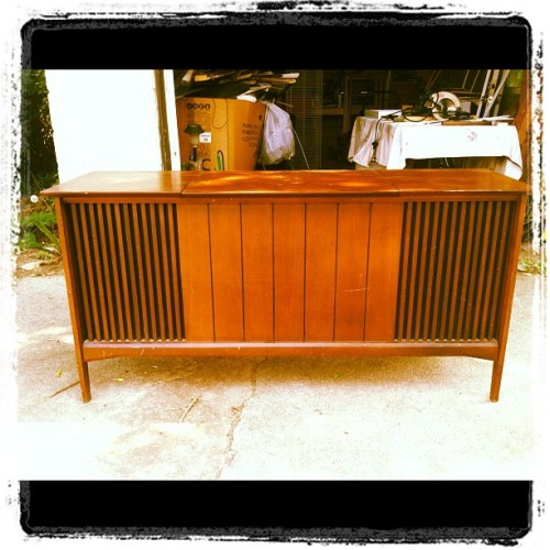 Vintage Stereo Resto - Before (Taken with instagram)