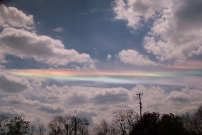 n-a-s-a:  A Circumhorizontal Arc Over Ohio  Credit & Copyright: Todd Sladoje
