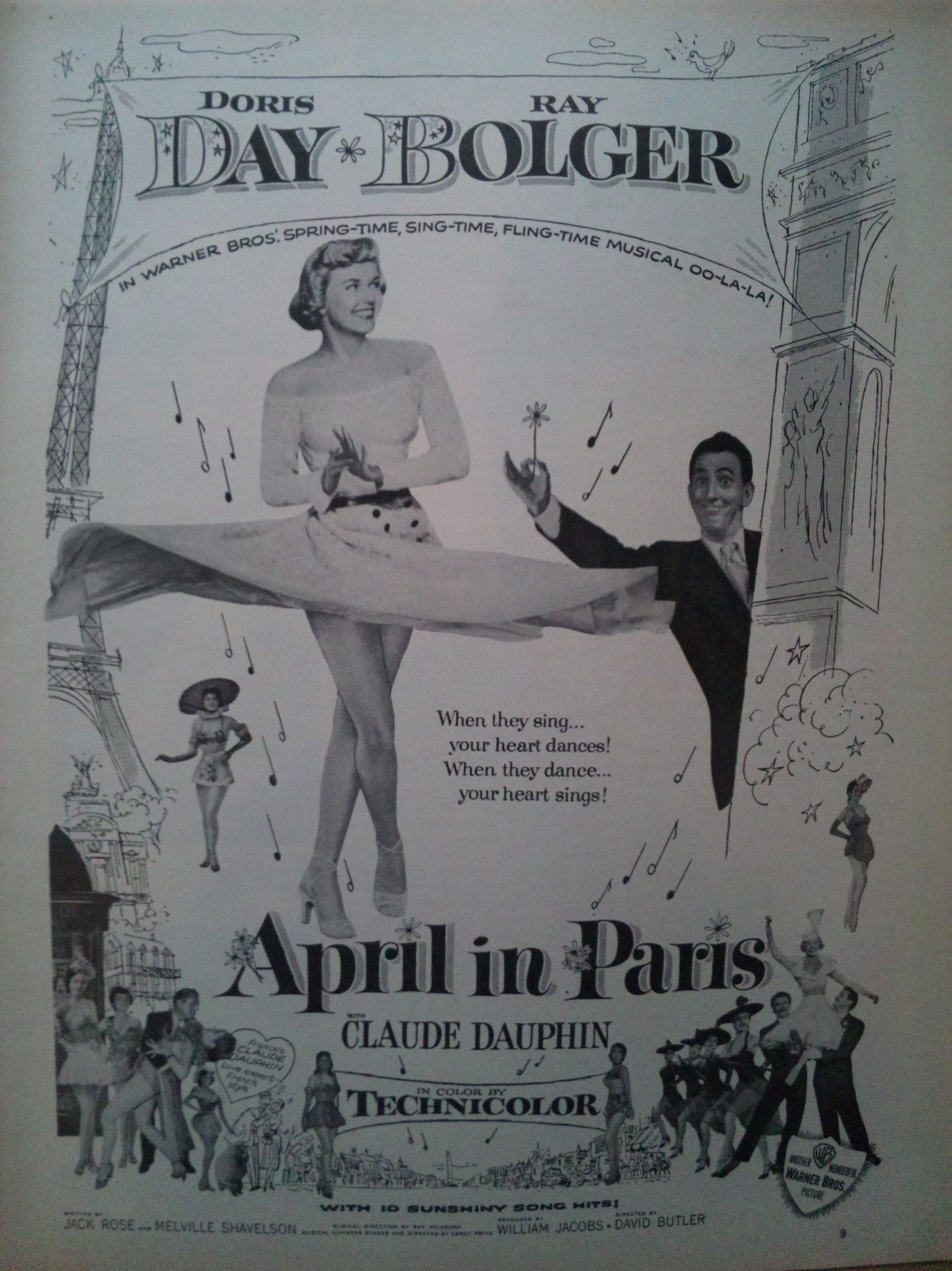 April in Paris (1952)