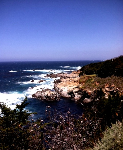 Breathtaking. Along Highway 1.  Photo: On our way to Big Sur. 5/23/12. Karen Glosser.