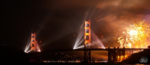 The Magnificent Golden Gate by Syed Abbas