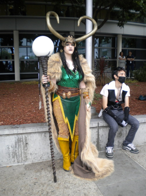 haemophores:  CAN I PLEASE TELL YOU HOW AMAZING THIS LOKI WAS  OMG SHE WAS AMAZING. :'D