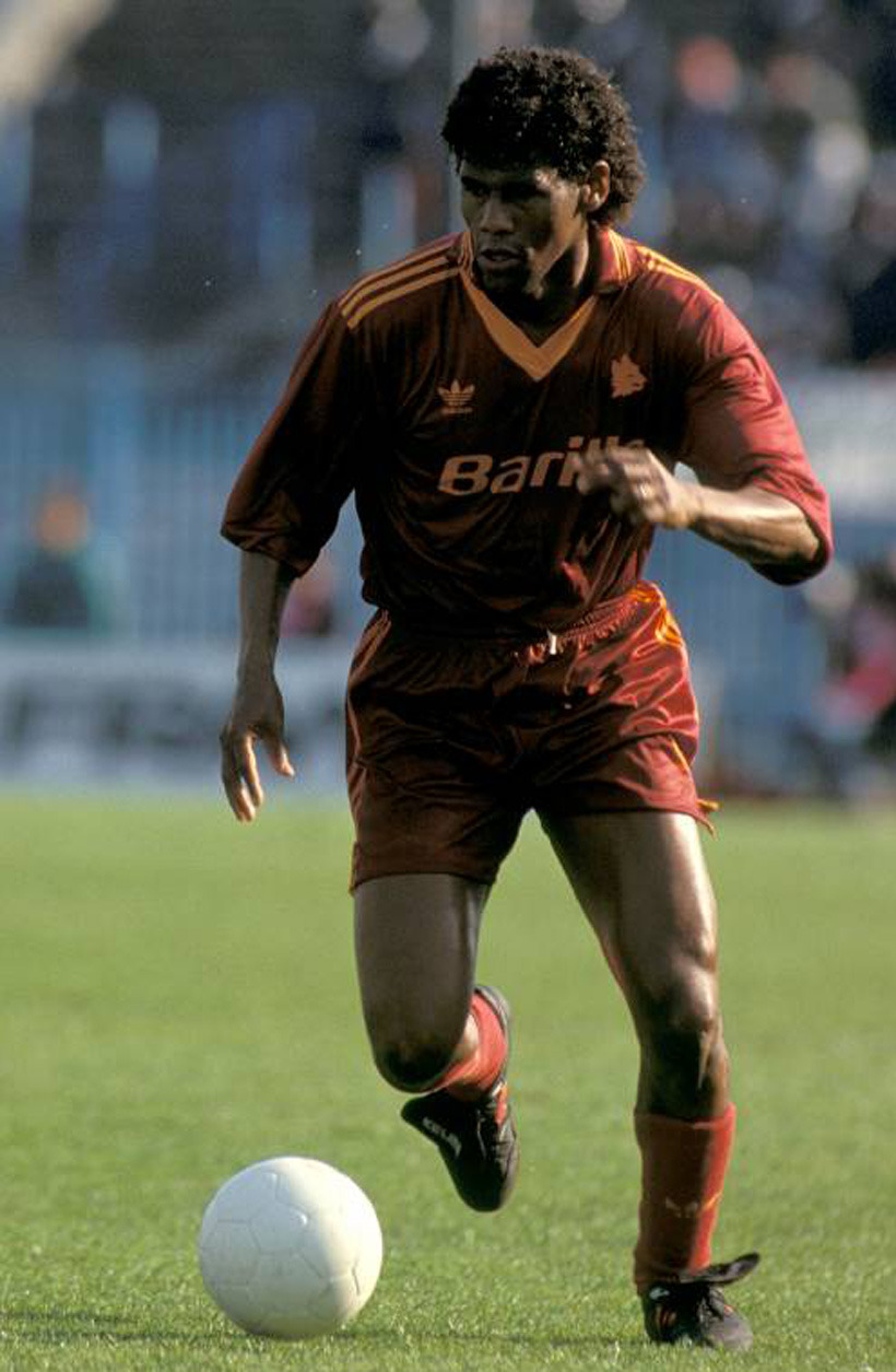 Aldair, AS Roma 1990.Source: 11 Freunde