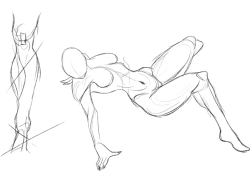 life drawings studies