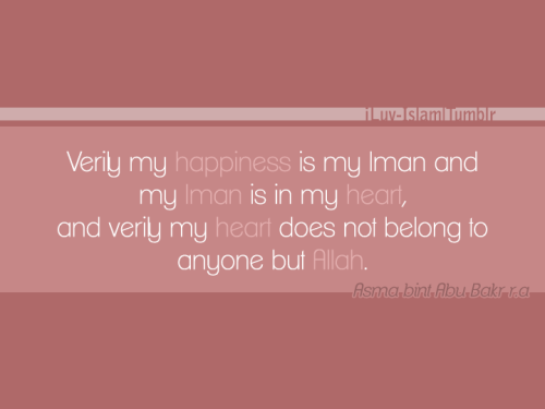 islamic-quotes:  Happiness
