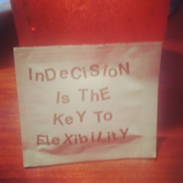 life lessons at hooters (Taken with instagram)