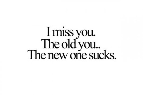 "#missyou #you ""you should had knew"""