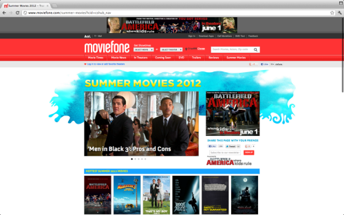 BATTLEFIELD AMERICA is in theaters THIS FRIDAY! Check out this cool Summer Movie Guide on Moviefone! Pretty Cool  Make sure to take the entire family out to see BATTLEFIELD AMERICA In Theaters THIS FRIDAY!