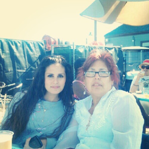 My mom & I ♥ #mom #iloveyou #ib #pier (Taken with instagram)