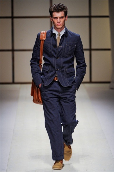 mensfashionworld:  Salvatore Ferragamo S/S 2012