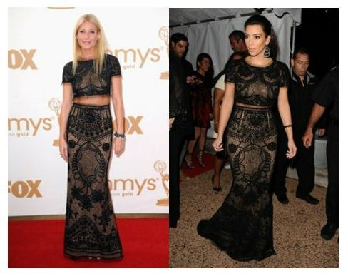 Who Wore it Better: Gwyneth Paltrow VS Kim Kardashian in Emilio Pucci Gwyneth Paltrow dazzled us all when she arrived at the 2011 Emmy Awards in this skirt and top by Pucci. Kim Kardashian styled in a similar ensemble at Cannes last week. The same outfit but… Visit Trendury for more!