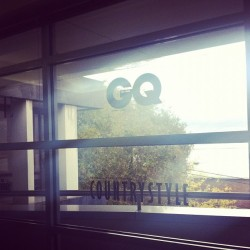 Oh hey #GQ  (Taken with Instagram at GQ hq)