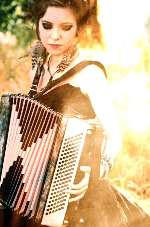 wolftea:  miss Jordan with my accordion