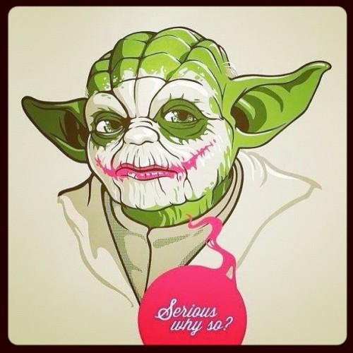 #cray #starwars #joda #ysrsso? (Taken with instagram)