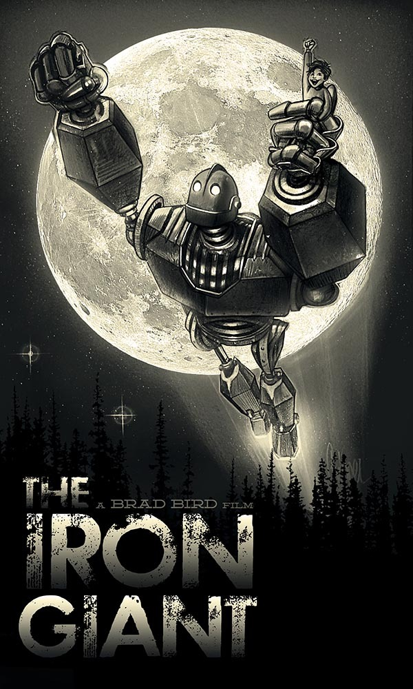 fuckyeahmovieposters:  The Iron Giant by Paul Shipper