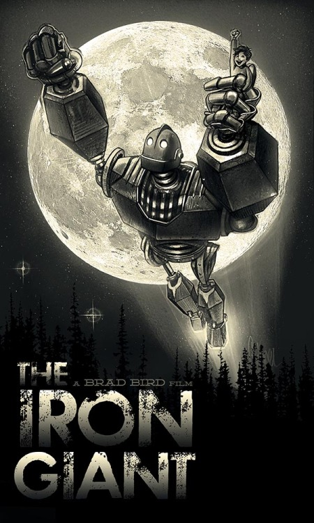 The Iron Giant by Paul Shipper