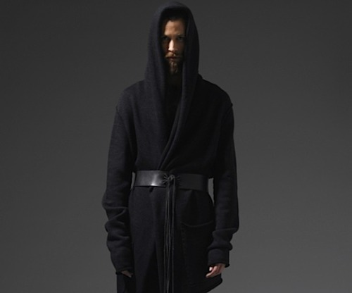 This is by Lars Andersson for his FW 2012. I imagine that if people wear it, they'll have the urgent need to scream and growl.  More; Selectism