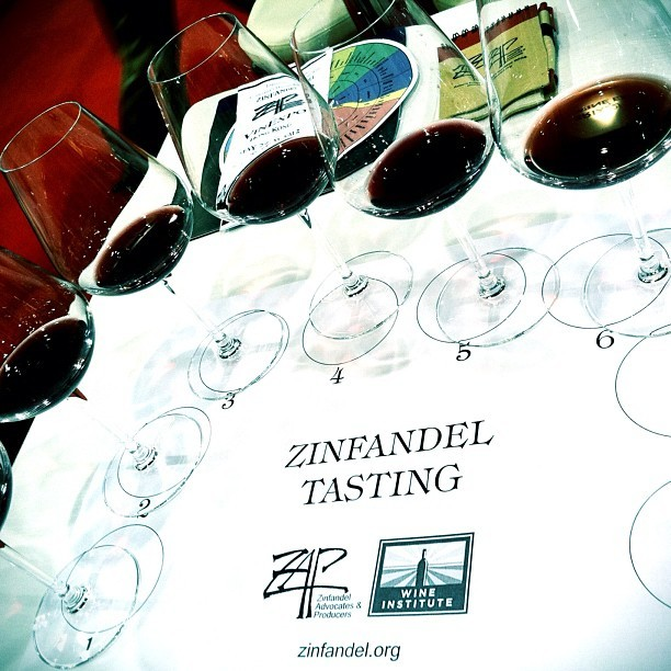 #Zinfandel tasting at @vinexpo with @thezinfandelorg #wine #hongkong  #vinexpo  (Taken with instagram)