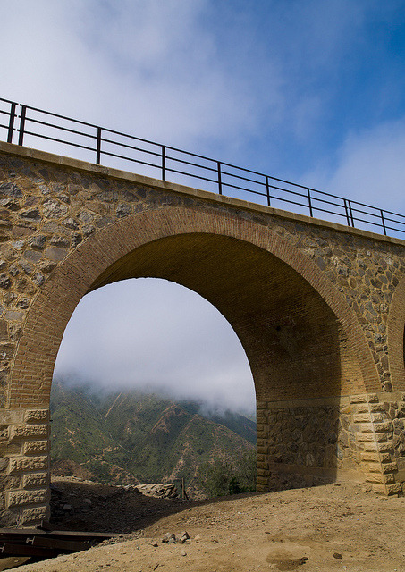 Arbaroba Train Bridge, Eritrea by Eric Lafforgue on Flickr.