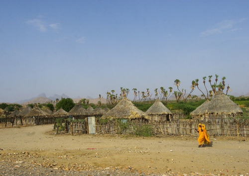 Village Near Keren, Eritrea by Eric Lafforgue on Flickr.