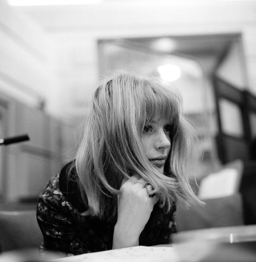 Marianne Faithfull by Gered Mankowitz, 1964
