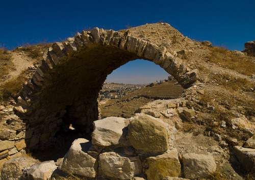 City View Under An Arch In Karak Castle, Karak, Jordan by Eric Lafforgue on Flickr.
