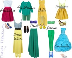 fashionoverhype:  Disney Princesses! (except for rapunzel and tiana) Follow Me(: ilaaavewatermelons.tumblr.com