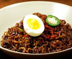 Google Images: 자장면 (Jajangmyeon) - Black Bean Noodles