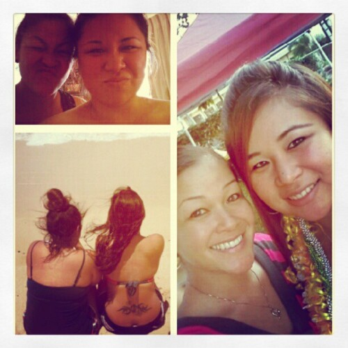My #1 fan, my biggest supporter, my niggga. My sister :)  (Taken with instagram)