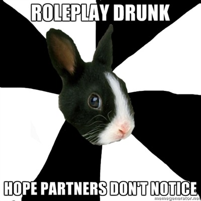 fyeahroleplayingrabbit:  anonymous please! :)