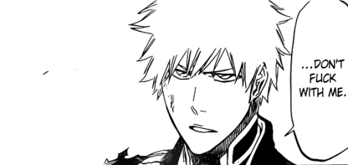 thatssirgwainetoyou:  Basically: Ichigo in a nutshell.