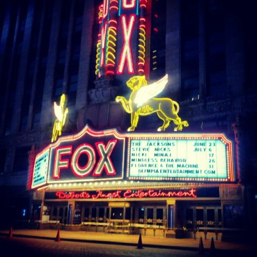 Fox Theater  (Taken with instagram)