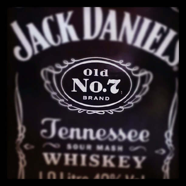 Day 29 - a number. Seven. #photoadaymay #whiskey #jackdaniels (Taken with instagram)