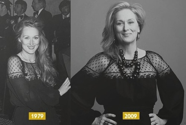 cookingloveandlife:  …Meryl Streep does not age.