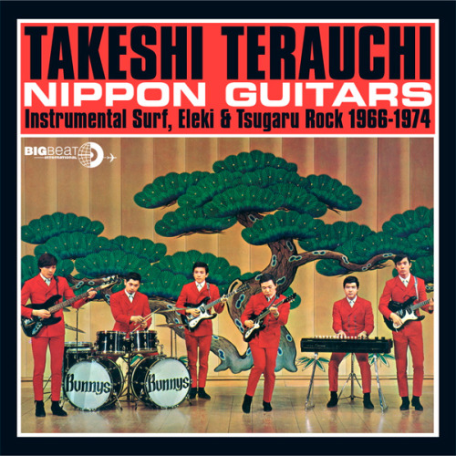 (via WFMU's Rock 'n' Soul Ichiban!: Summer Boogaloo)  Takeshi Terauchi & The Bunnys - Summer Boogaloo